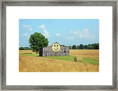 Smile Framed Print by Steven Michael