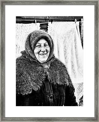 Framed Print featuring the photograph Smiler by John Williams