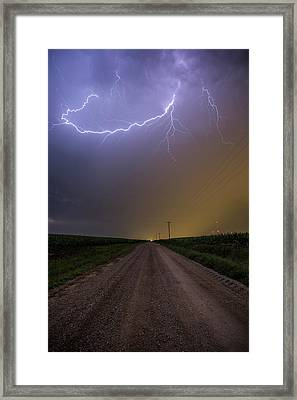 Framed Print featuring the photograph Smiley  by Aaron J Groen