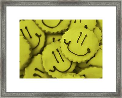Smiley Face Framed Print by JAMART Photography