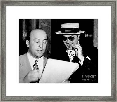 Smiling Al Capone Framed Print