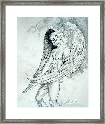 Smiling Angel Framed Print
