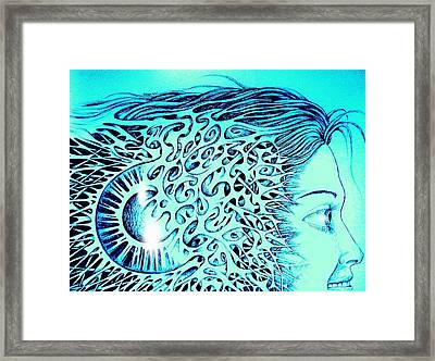Smiling For The Future Framed Print by Paulo Zerbato