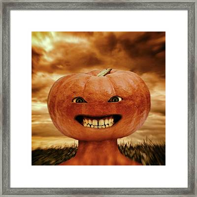 Smiling Jack Framed Print by Wim Lanclus