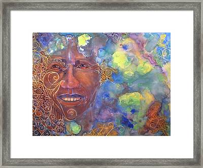 Smiling Muse No. 1 Framed Print