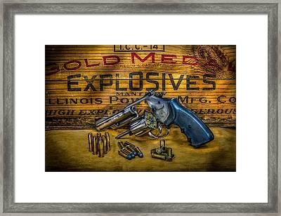 357 Magnum Framed Print by Paul Freidlund