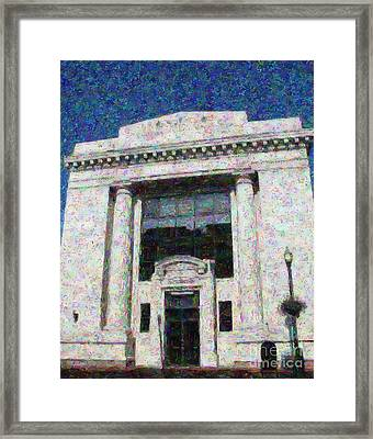 Smith Barney Framed Print by Colleen Kammerer