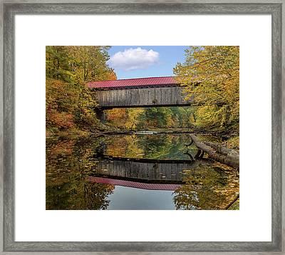 Smith Bridge Framed Print