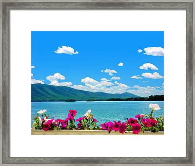 Smith Mountain Lake Grand View Framed Print
