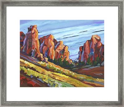 Smith Rock I Framed Print