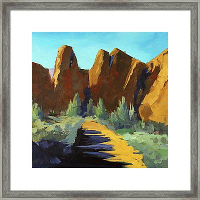 Smith Rock Framed Print
