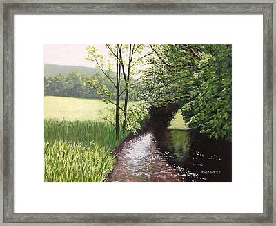 Smith Stream Framed Print