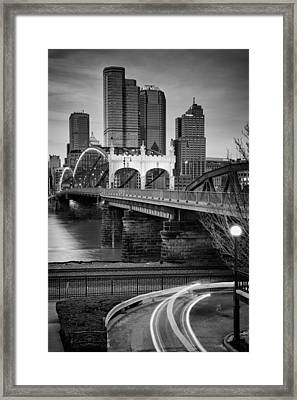 Smithfield Street Bridge 7 Framed Print by Emmanuel Panagiotakis
