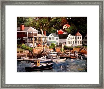 Smiths Cove Gloucester Framed Print