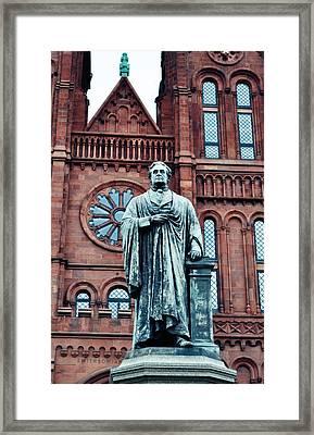 Smithsonian Castle  Framed Print