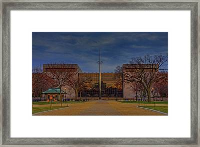 Smithsonian National Air And Space Museum Framed Print by Craig Fildes
