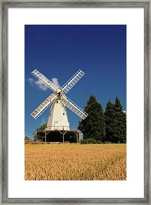 Smock Mill Framed Print by Jeremy Sage