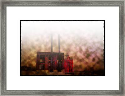 Smoggy Day Framed Print
