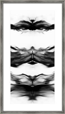 Smoke Art 1 Framed Print by Sumit Mehndiratta
