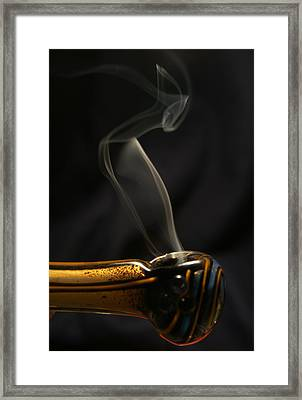 Smoke Diver Framed Print