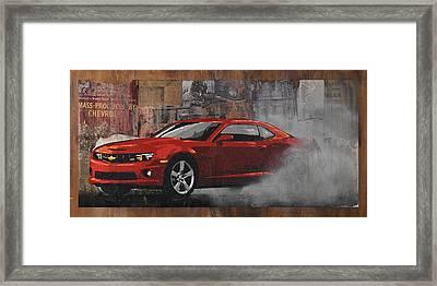 Smoke 'em Framed Print by Josh Bernstein