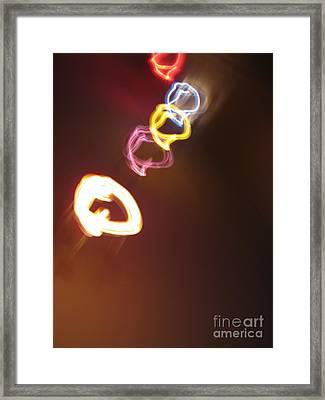 Framed Print featuring the photograph Smoke In Colors by Ausra Huntington nee Paulauskaite