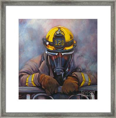 Smoke Jumper 126 Framed Print by Pat Burns