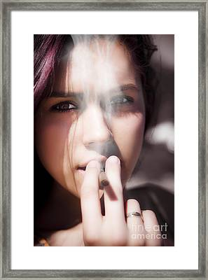Smoke Framed Print by Jorgo Photography - Wall Art Gallery