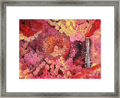 Smoke Stack Framed Print by Reb Frost
