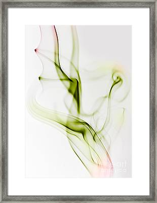 Smoke Wings Framed Print