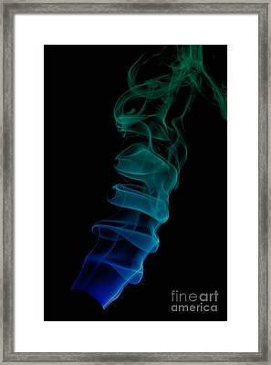 smoke XIX ex Framed Print