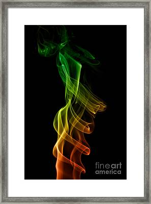 smoke XXII Framed Print