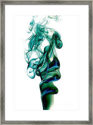 smoke XXIII Framed Print
