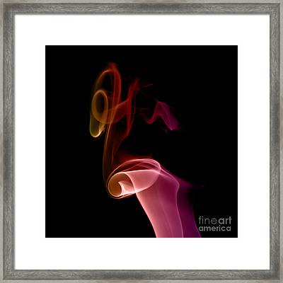 smoke XXVII Framed Print