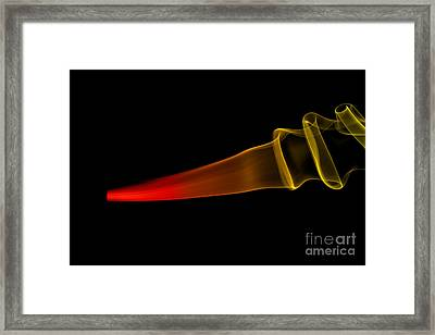 smoke XXX Framed Print