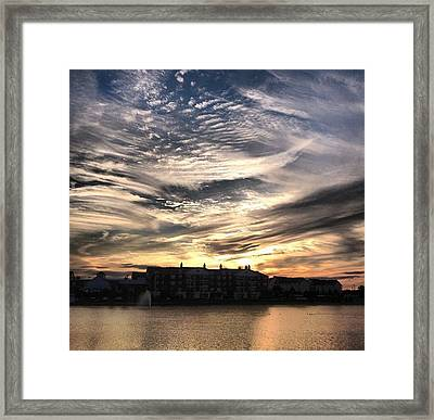 Smoked Framed Print by 2141 Photography