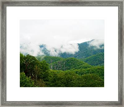 Smokey Mountain Afternoon Framed Print