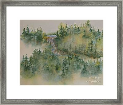 Smokey Mountain Memories 3 Framed Print by Lisa Bell