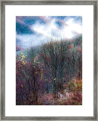 Smokey Mountain Ridge Framed Print