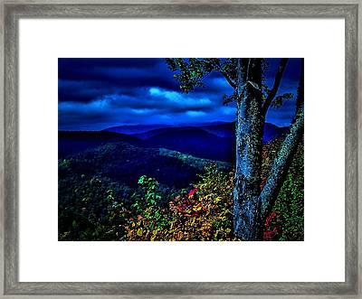 Smokey Mountain Still Life Framed Print by William Jones