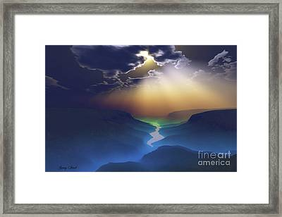 Smokey Valley Framed Print