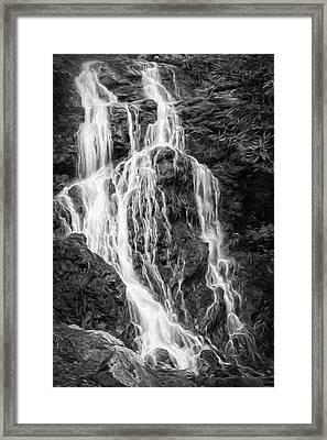 Smokey Waterfall II Framed Print