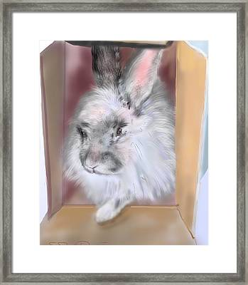 Smokeyblue Framed Print