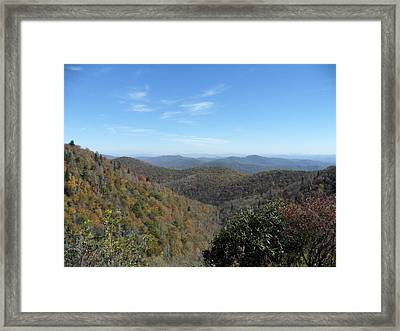 Smokies 6 Framed Print