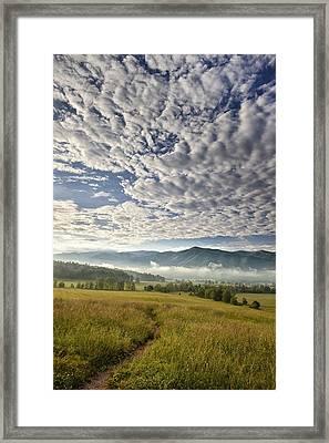 Smokies Cloudscape Framed Print by Andrew Soundarajan