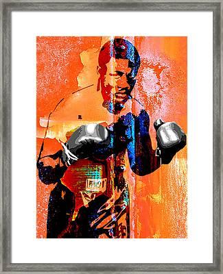 Smokin Joe Frazier Collection Framed Print