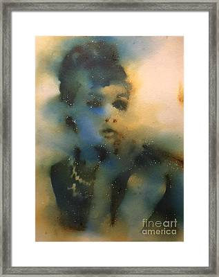 Smoking At Tiffany's Framed Print by Brandi Pfleider