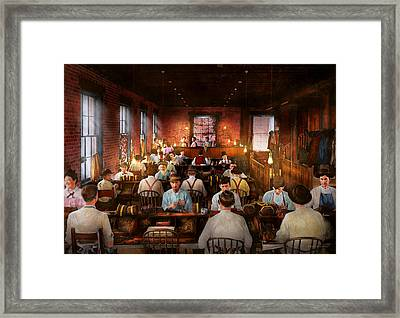 Smoking - Cigar - Hand Rolled Cigars 1909 Framed Print