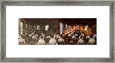 Smoking - Cigar - Hand Rolled Cigars 1909 - Side By Side Framed Print