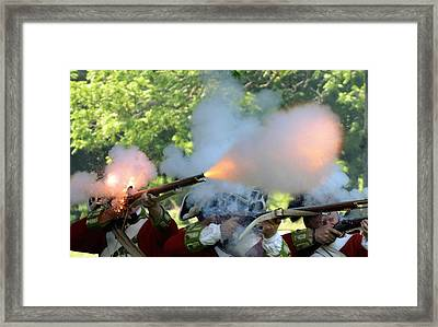 Smoking Guns Framed Print